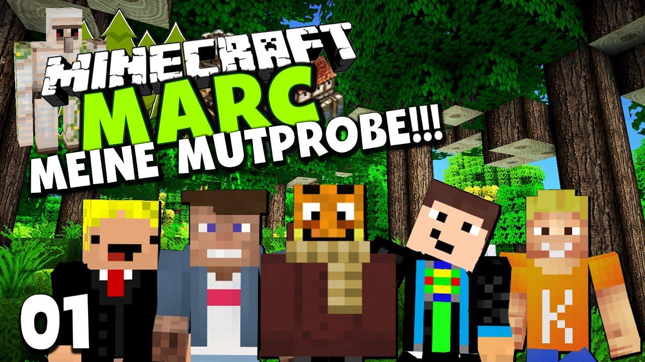 Minecraft marc 1 meine mutprobe ein neues abenteuer - Minecraft projekte ...