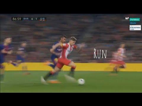 Pablo Maffeo VS Barcelona - (Away) 2017/18 HD