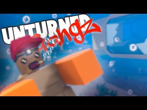 UNDERWATER DEATH TRAP! Unturned GangZ Hawaii S5E5 (Hawaii Gameplay)