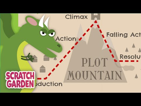 Plot Mountain! | The Plot Diagram Song | Scratch Garden