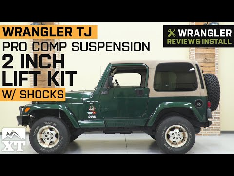 jeep-wrangler-tj-pro-comp-suspension-2-in.-lift-kit-w/-shocks-review-&-install