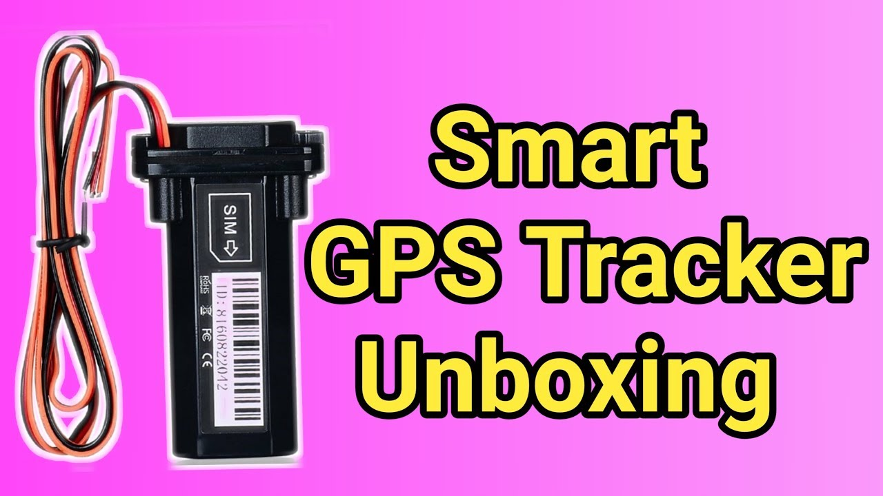 Smart GPS Tracker for Car and Bike    Unboxing in Hindi by Tech Fiction