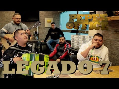 LEGADO 7 CON NUEVAS CANCIONES NOS CUENTAN SU HISTORIA - Pepe