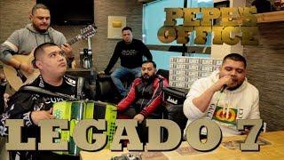 LEGADO 7 CON NUEVAS CANCIONES NOS CUENTAN SU HISTORIA - Pepe's Office