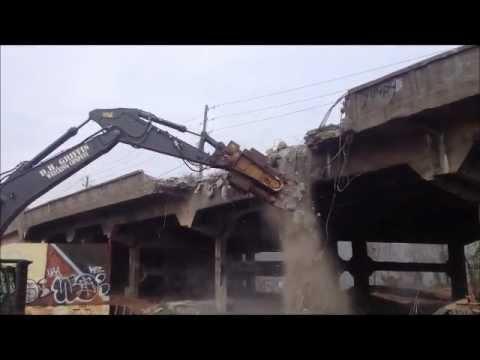 Edgewood Avenue bridge deconstruction