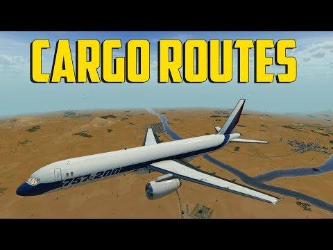 Transport Fever - Cargo Routes