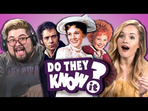 DO COLLEGE KIDS KNOW MOVIE MUSICALS? #2 REACT: Do They Know It?