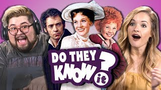 do college kids know movie musicals? 2 react do they know it?