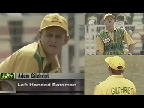 Adam Gilchrist ODI Debut Vs South Africa 1996 Titan Cup | Gilchrist First Innings In ODI Cricket