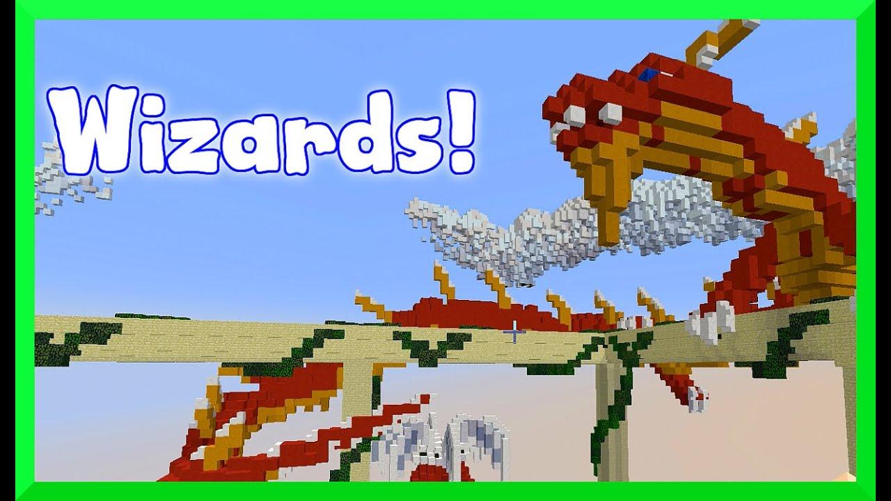 Minecraft - Wizards GamePlay on the Mineplex Server