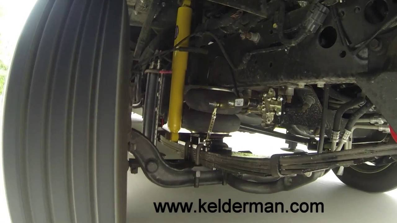 Kelderman Ford F53 Motorhome Air Suspension Demonstration