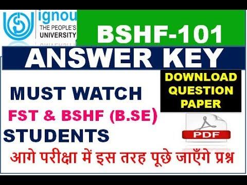 bshf-101-answer-key