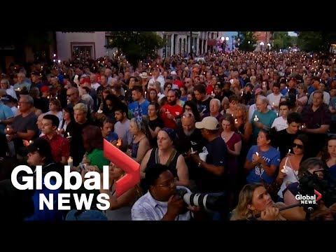 Dayton holds vigil following mass shooting