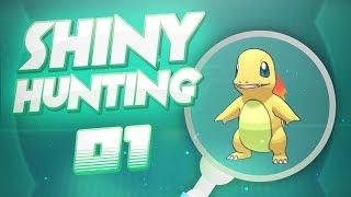 Shiny hunting de Charmander #01 - Pokemon Let's Go Pikachu & Let's Go Eevee