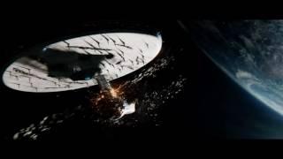 Разрушение Энтерпрайза в Стартрек: Бесконечность (Star Trek 3)