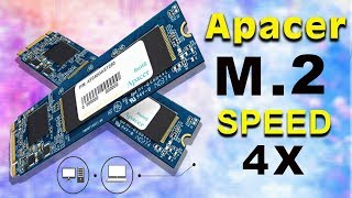M.2 SSD | Your Computer is Slow? | Apacer M.2 | Speed 4X |TutorBari