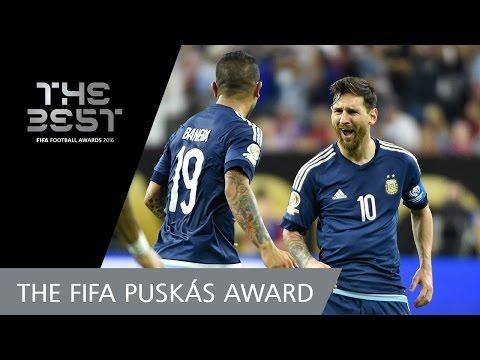 Lionel Messi (ARG) - FIFA PUSKAS AWARD 2016 NOMINEE
