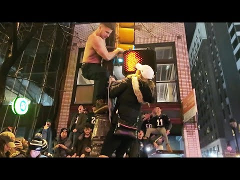 PHILLY GOES WILD AFTER SUPER BOWL WIN!!!