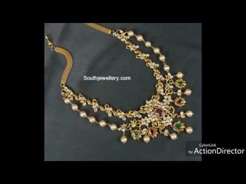 Uncut diamond necklace designs