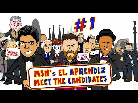 🔴MSN El Aprendiz #1🔵Meet the Candidates! Barcelona Search For A New Manager!
