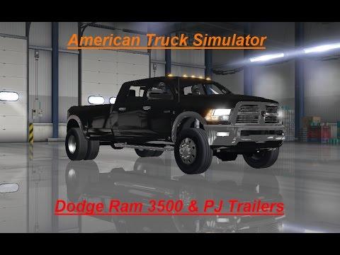 Ats Dodge Ram 3500 Amp Pj Trailers Youtube