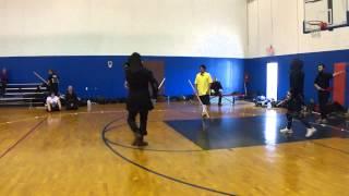 Fechtschule America 2013 - Arturo Medina vs Charles Murdock