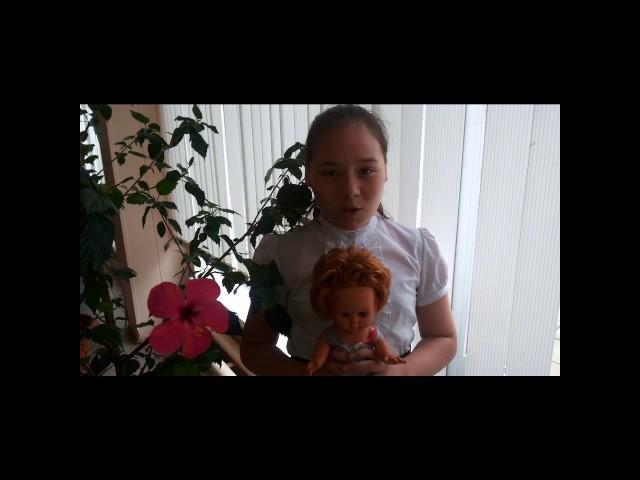 Изображение предпросмотра прочтения – ЕлизаветаМартынова читает произведение «Кукла» ВероникиМихайловныТушновой