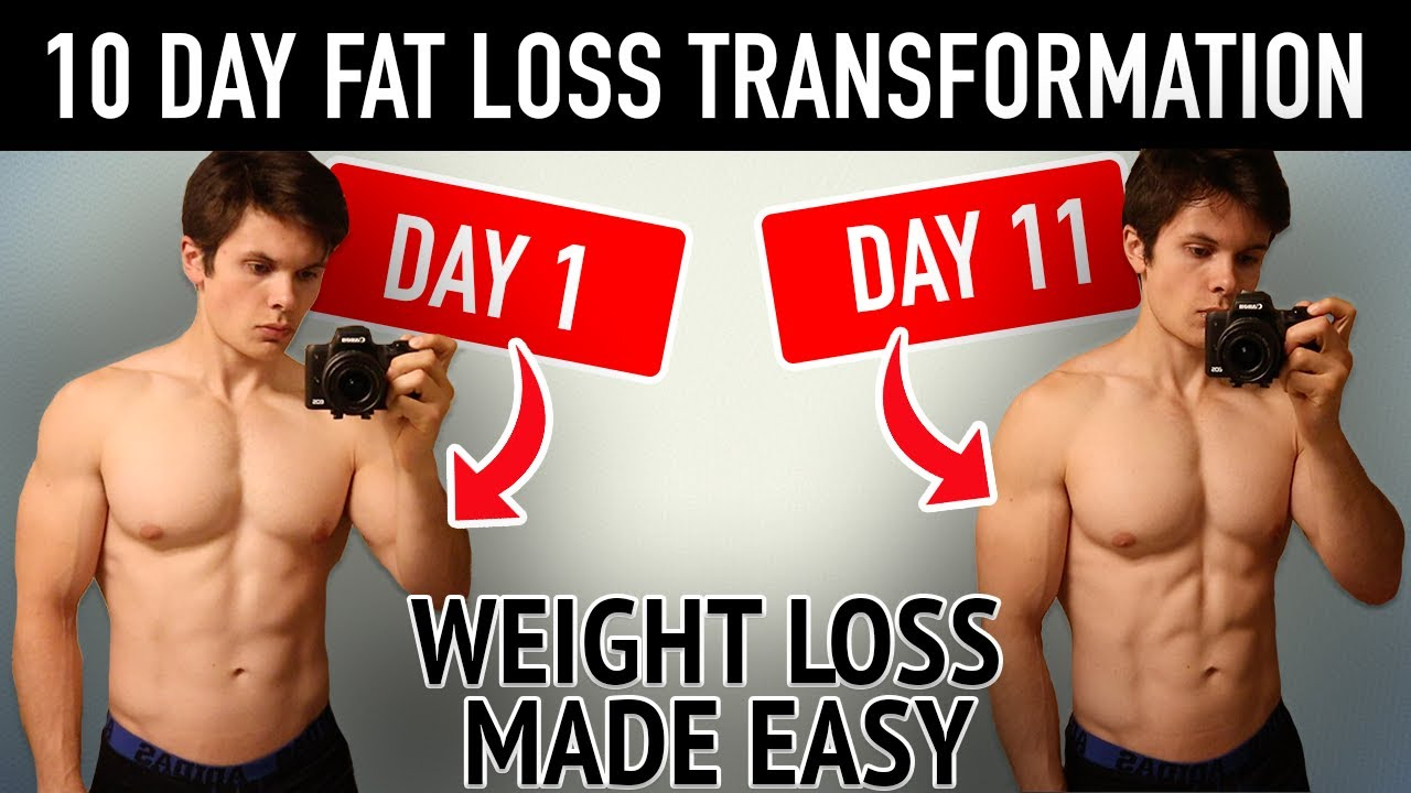 10 Day FAT LOSS Transformation | My Top Weight Loss Tips | Healthy Recipes + Diet Tricks