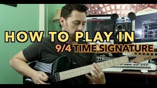 How To Play in 9/4 Time Signature Mp3