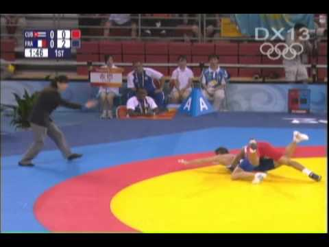 Greco Roman Wrestling Technique Highlights from Beijing Olympics-Part 2