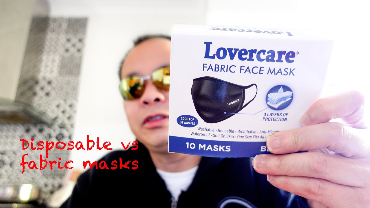 Disposable vs Fabric Face Masks