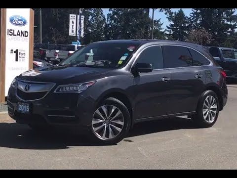 2015 Acura MDX SH W/ NAV, Leather, Bluetooth Review|  Island Ford