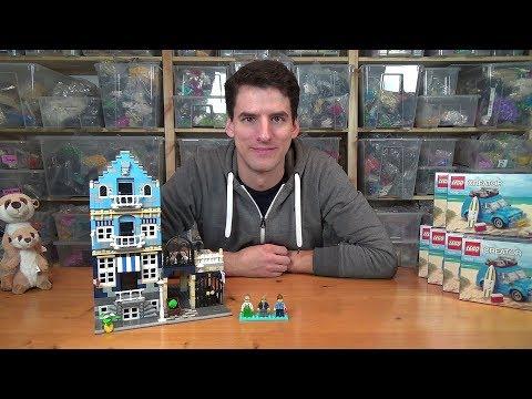 Warum die LEGO® 10190 - Market Street so stark im Wert gestiegen ist.