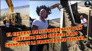Ivan Riebeling enfrenta Migración Estadounidense y decomisa herramientas como protesta. thumbnail