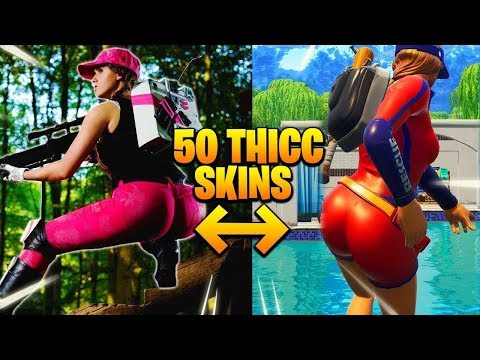 TOP 50 HOTTEST FORTNITE COSPLAY GIRLS - SKINS IN REAL LIFE