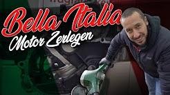 HOW DEEP? // BELLA ITALIA - WIR ZERLEGEN DEN MOTOR / VESPA V50