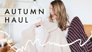 Autumn Haul 2018 | Warm Sweaters, Pumpkin Candles, Fall Skincare + Maple Chocolate