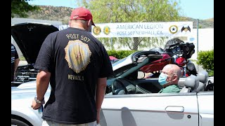 California Sons of The American Legion honor veterans with drive-up hot dog lunch