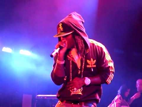 Ace Hood ft Trey songz - Ride or die Live @ Def Jam 25th Anniv Party Avalon Hollywood 062609
