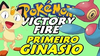 Pokémon Victory Fire (Detonado - Parte 2) - Primeiro Ginásio e HM Cut