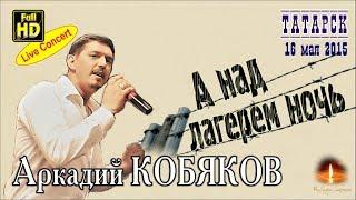 Live Concert/ Аркадий КОБЯКОВ - А над лагерем ночь (Татарск, 16.05.2015)