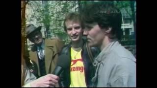 Интервью Андрея Большакова для программы Веселые Ребята 1986 год