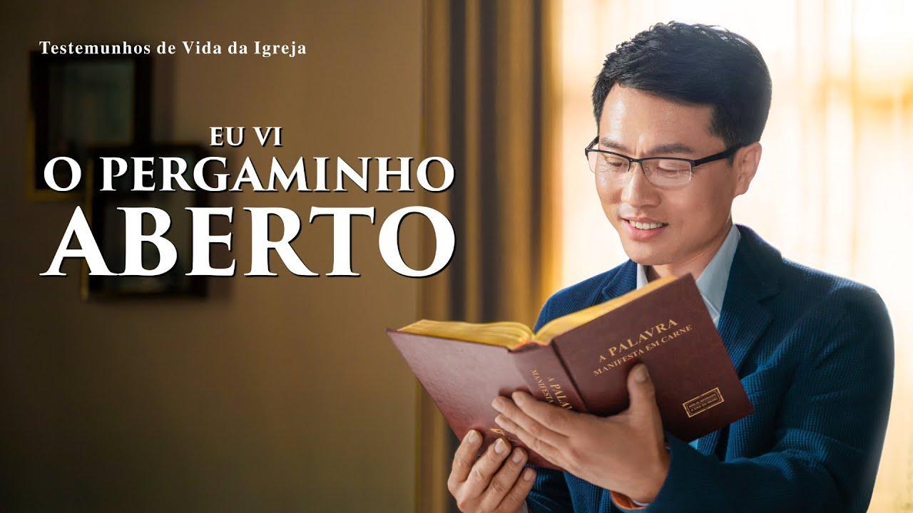 """Pregação Evangélica """"Eu vi o pergaminho aberto"""""""