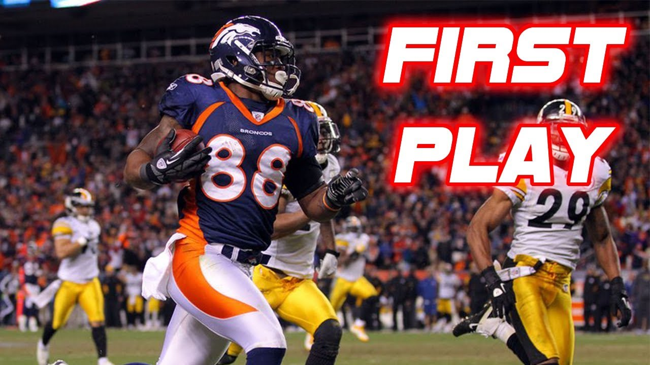 Fastest Overtime Scores in NFL History (Within 1 Minute!)