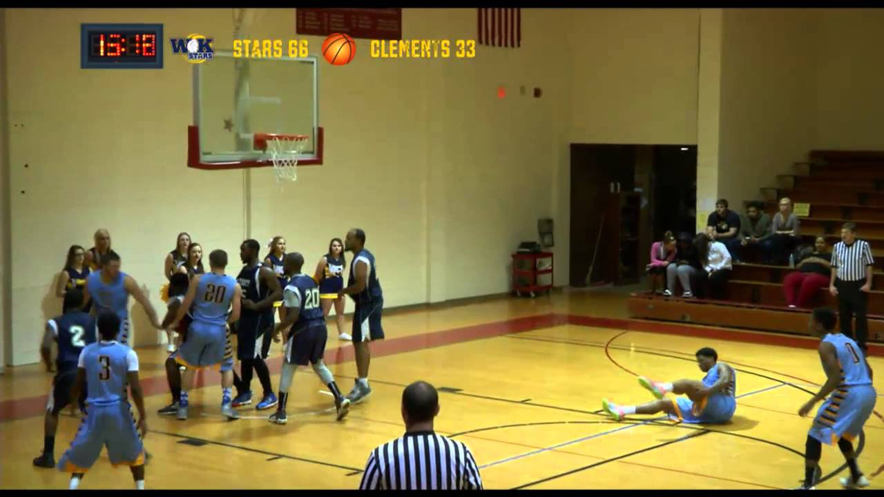 Earle Clements At Wkctc November 10 2014 Live Basketball Youtube