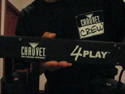 Chauvet 4Play LED Light Product Review