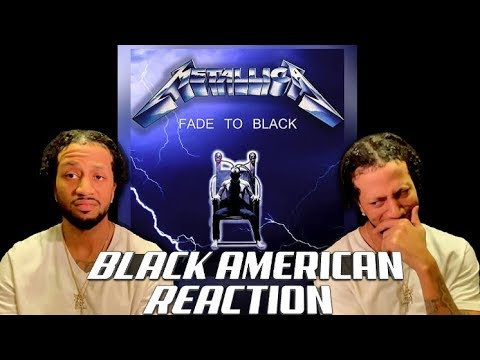 Metallica - Fade to Black | BLACK AMERICAN REACTION!!! (EMOTIONAL ROLLERCOASTER!!!!)