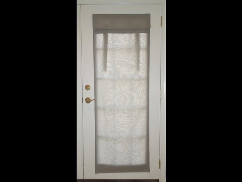Dani Designs Co French Door Curtain Installation Instructions