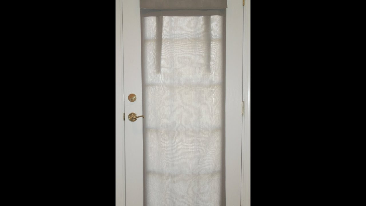 Dani Designs Co French Door Curtain Installation