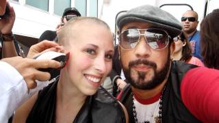 BSB Cruise 2011: Backstreet Boys Shave My Head